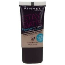 Rimmel Stay Matte Skinpure Complex Clarifying Matte Foundation 102 Warm Ivory