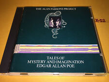 ALAN PARSONS PROJECT 1st cd TALES of MYSTERY and IMAGINATION edgar allan poe