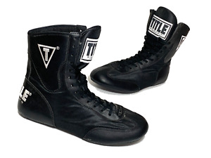 Title Boxing Speed Flex Encore Mid Length Boxing Shoes Size 11 Black