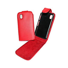 Vertikal Tasche Case Cover  ROT  SAMSUNG i9000 Galaxy S