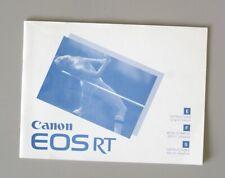 Canon EOS RT Instruction Manual multi-language
