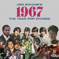 JON SAVAGE'S 1967-THE YEAR POP DIVIDED  ARETHA FRANKLIN/SONNY&CHER/+  2 CD NEW!