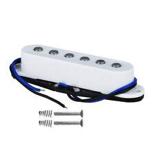One White Alnico 5 Strat Electric Guitar Pickup Single Coil Pickup Middle Pickup