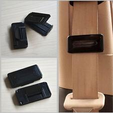 2Pcs Car Smart Seat Belt Buckle Adjuster Holder Clip Shoulder Relax Neck Support