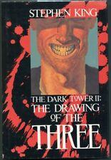 THE DARK TOWER II: THE DRAWING OF THE THREE - Stephen King - 1st - HC/DJ - F/VNF