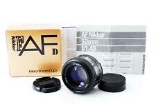 【Excellent+++】Nikon AF Nikkor 50mm f/1.4 D  Auto Focus Lens Box from Japan