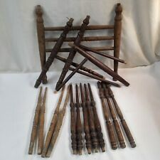 Antique Furniture Salvage Wood Chair Spindles Parts Upcycle Repurpose Crafts