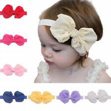 12Pcs Cute Kids Girl Baby Chiffon Toddler Flower Bow Headband Hair Band Headwear