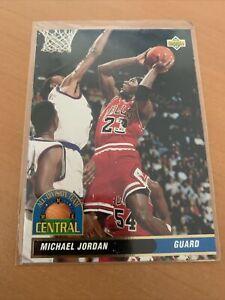 Carte NBA Michael Jordan Upper Deck 1992/93 Italienne
