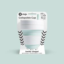 Stojo Collapsible Biggie Cup  16oz / 470mL, mint