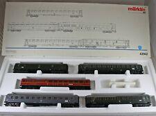 """Märklin 42941 Wagen-Set """"Riviera-Express"""" der DB aus Sammlung mit OVP (4)"""