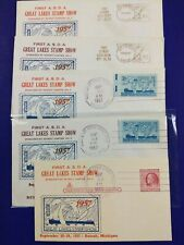 Asda Great Lakes Stamp Show Detroit Mi 1957 Philatelic Expo Meter slogan cover