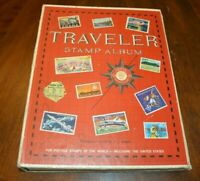 CatalinaStamps: Traveler Stamp Album, Harris !972 w/800 Stamps, Lot D16