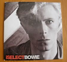 DAVID BOWIE: i SELECT - UK PROMO CD 12 TRACKS: LIFE ON MARS, ETC. UK FREE POST