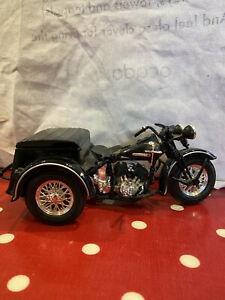 Model Harley Davidson Bike With Mini Locked Compartment
