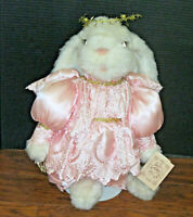 """VINTAGE """"1990"""" TILLY COLLECTIBLES PLUSH 20"""" """"HEAVENLY HARE"""""""