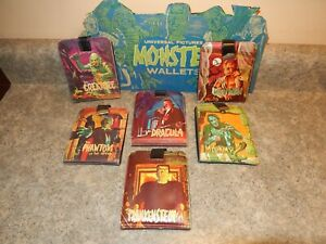 Copy Display 1960s famous Monsters wallets Cardboard Mattel