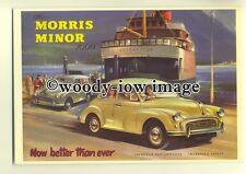 ad0082 - Morris Minor 1000 car - modern advert postcard