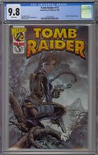 Tomb Raider #1/2 CGC 9.8 NM/MT Wp Image Top Cow 2000 Wizard Mail Away Edition