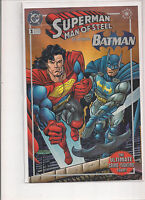 Superman The Man Of Steel Kenner Limited Edition #1 Variant 1995 DC Comic Book.