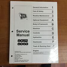 JCB 8052 8060 Mini Excavator Service Repair Manual