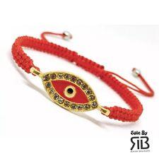 Pulsera Con Ojo Para El  Mal De Ojo Malas Vibras Evil Eye Red Bracelet