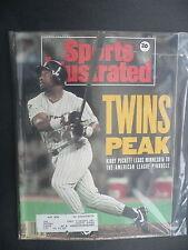 Sports Illustrated October 21, 1991 Kirby Puckett Twins MLB De La Hoya Oct '91 D