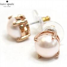 Kate Spade Blush Faux Pearl Rose Gold Tone Stud Earrings O0RU1962