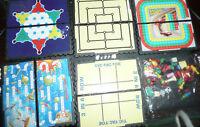 VINTAGE U. K. Travel Games SET OF 5 FOLDING LOT HERE DEAL VINTAGE GAME COLLECTOR