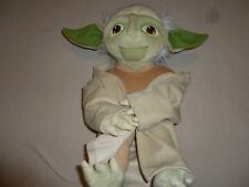 "New W Tag Star Wars Yoda Pillowtime Large Plush 15"" Lucasfilm Nwt Potf Rotj Toy"