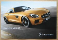 MERCEDES-BENZ AMG GT & GT-S orig 2014 UK Mkt Sales Brochure Catalogue