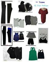 22 Pc Athletic Lot! Womens Sz Medium Workout Gym Clothes - Nike Lululemon + more
