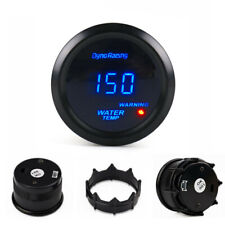 "2"" 52mm Blue LED Digital Water Temp Gauge Centigrade Temperature Meter Tint Lens"