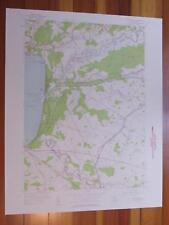 Sylvan Beach New York 1958 Original Vintage USGS Topo Map