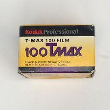 Kodak 100 TMax Professional 1 Roll Genuine 135-36 Film Color Negative Exp 8/05