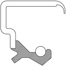 Engine Crankshaft Seal Front National 713103