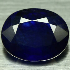 5.86 CT NATURAL BLUE MADAGASCAR SAPPHIRE GLASS FILLED OVAL