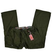 Koi Scrub Pants Cargo Bottoms Olive 701-61 Lindsey