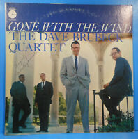 DAVE BRUBECK QUARTET GONE WITH THE WIND LP 1959 RE '69 GREAT CONDITION VG+/VG!!A