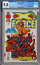 X-Force #56 CGC 9.8 White Pages Deadpool Jeph Loeb story