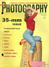 1955 Popular Photography Magazine: 35-mm Issue/Cameras/Lenses/Films/Filters