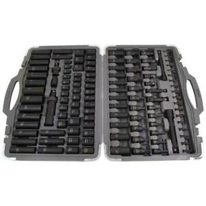 "Big Metric A/F 119pcs 1/2""dr.3/8""dr.Impact Socket Sockets Full  Wrench Set 4228"