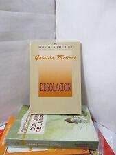 DESOLACION - GABRIELA MISTRAL Spanish Poetry Literature Libros en Espanol
