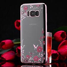 Samsung Galaxy S8/ S9 Handy Schutz Hülle Diamant Case Glitzer Silikon Cover DECC