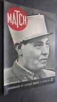 Revista Match Octubre 1939 El Teniente Louis Paul Deschanel ABE