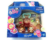 Littlest Pet Shop Petriplets Hamsters Set #1477 #1478 #1479 New