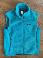 Patagonia Fleece Vest Women's 23080 Synchilla Polyester Retro-X Sz XL