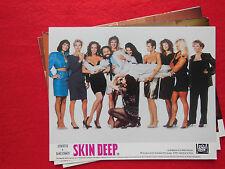 RARE VINTAGE 10x8 UK FOH LOBBY CARD STILL SET(x8) - SKIN DEEP - JOHN RITTER