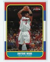 2006-07 Fleer 20th Anniversary # 33, Dwyane Wade, Miami Heat / Marquette, Mint.