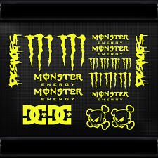 20x JDM MONSTA CLAWS BLOCK DC DECAL STICKERS CAR TRUCK VAN SUBARU FORD MOTO BMX